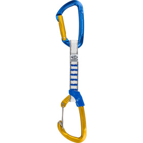 Climbing Technology Berry Cinta express 12cm/16mm, blue/ocra